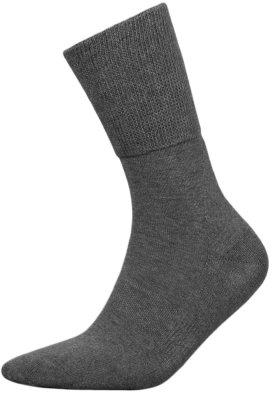 MedicDeo Cotton Venensocken auf Kundenwunsch nun endlich in Grau verfügbar - MedicDeo Cotton Socken in dunkelgrau