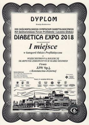 DEOMED Diabetikersocken Auszeichnung 2018 -