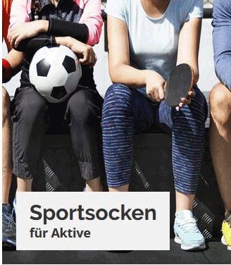 Sportsocken gegen Geruch