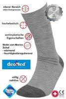 Medic Deo Silverwool Diabetikersocken mit Wolle vom...