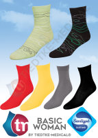 Basic Women Baumwollsocken Damen Antigeruch Sport Freizeit Business