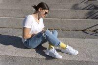 Basic Women Baumwollsocken Damen Antigeruch Sport Freizeit Business