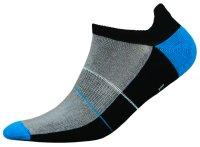 Mini Sportsneaker Antibakteriell gegen Geruch nahtlos 38-40 schwarz-blau