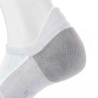 Mini Sportsneaker Antibakteriell gegen Geruch nahtlos 38-40 weiss-grau