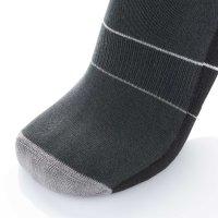 Mini Sportsneaker Antibakteriell gegen Geruch nahtlos  41-43 schwarz-grau