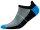 Mini Sportsneaker Antibakteriell gegen Geruch nahtlos 41-43 schwarz-blau