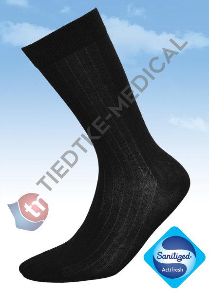 Basic Man Baumwollsocke 43-46 schwarz