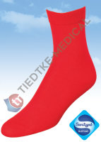 Basic Women Baumwollsocken 36-38 rot