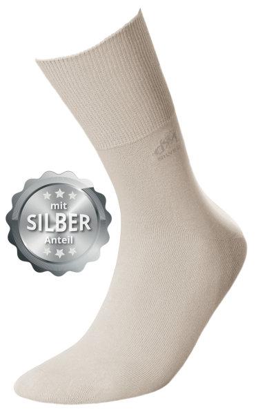 DEOMED Cotton Silver Baumwollsocken mit Silber beige 35-38