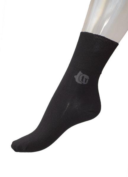 Ultraflex Cotton  extrem weite dünne Baumwollsocken 35-38 schwarz