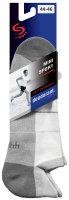 Mini Sportsneaker Antibakteriell gegen Geruch nahtlos 44-46 schwarz
