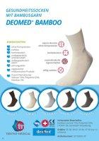 DEOMED BAMBOO dunkelblau 39-42
