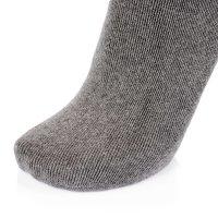 Ultraflex Frottee Long Kniestrümpfe Venensocken für geschwollene Beine 41-43 grau