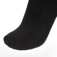 Ultraflex Frottee Long Kniestrümpfe Venensocken für geschwollene Beine 41-43 schwarz