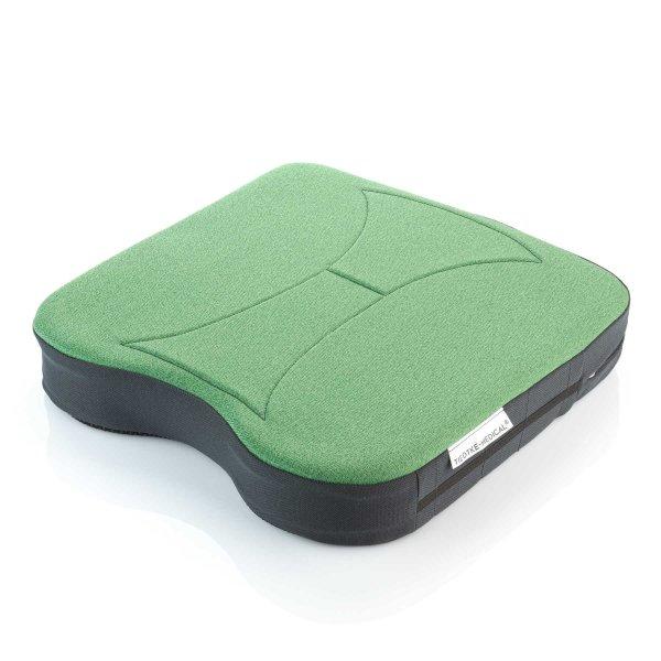 Sitzkissen orthopädisch gesunder Rücken 6,5 cm grün