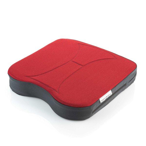 Sitzkissen orthopädisch gesunder Rücken 6,5 cm rot