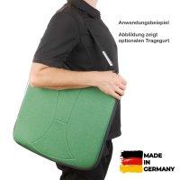 Sitzkissen orthopädisch gesunder Rücken 8,5 cm grün
