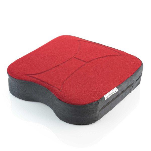 Sitzkissen orthopädisch gesunder Rücken 8,5 cm rot