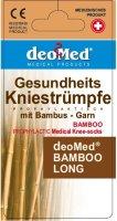 Kniestrümpfe Bambus Diabetiker Antigeruch o. Naht o....