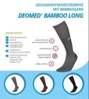 Kniestrümpfe Bambus Diabetiker Antigeruch o. Naht o. Kompression Medizinprodukt