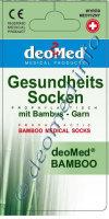 DEOMED BAMBOO -schwarz-43-46