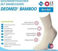 DEOMED BAMBOO -aschgrau-43-46