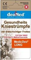 Kniestrümpfe MEDIC DEO LONG-aschgrau-grau-41-43