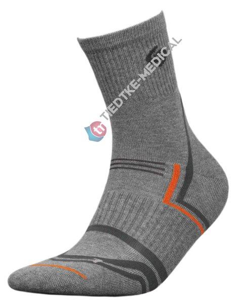 Socken NORDIC WALKING -grau-35-37