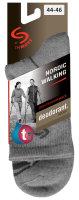 Socken NORDIC WALKING -grau-38-40