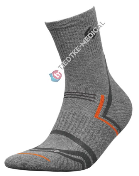 Socken NORDIC WALKING -grau-41-43