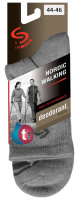 Socken NORDIC WALKING -grau-44-46
