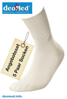 5paar extra dünne Bambus Socken Diabetiker o. Naht o. Kompression Antigeruch