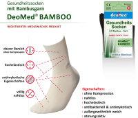 5paar extra dünne Bambus Socken Diabetiker o. Naht o. Kompression Antigeruch creme 43-46